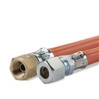 Gimeg gasslang PVC 1/4 inch links X 8/10 60cm 2017