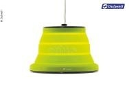 Collaps Leonis tentlamp groen, led lamp met dim funktie