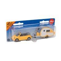 Siku - Speelgoed auto met caravan - Pull back