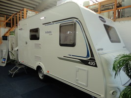 Caravelair Antares Style 420 model 2018