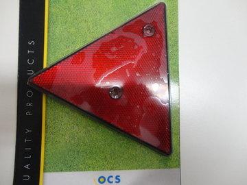 Driehoek reflektor rood