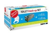 Toilet Fresh-up set C400 serie MOMENTEEL UITVERKOCHT