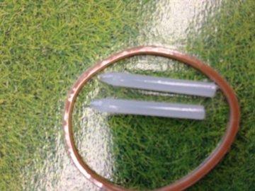 Stiftjes voor deksel inbouwstekkerdoos