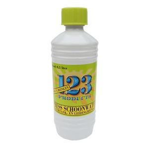 123 Press Schoonwater leidingreiniger 0.5 liter