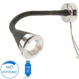 Bari flex LED lamp 12V 1.5W 3400K USB_