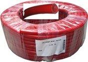 Gimeg gewapende waterslang rood 10x16mm per meter