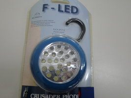 F-LED, excl. batterijen.