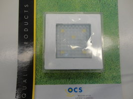 Opbouwspot Square 90 wit 6SMD