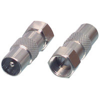 F connector male Coax male
