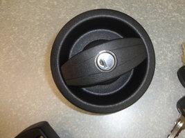 Deurslot Oberholz zwart 30-35mm. Links Gatmaat 92mm.