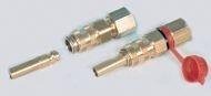 Snel koppeling met slangpilaar 8mm