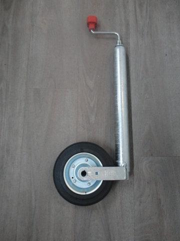 AL-KO neuswiel plus pinstop massief rubber 150kg 200x50