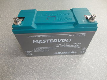 Mastervolt 12.8V 10Ah 128Wh Lithium ion Battery