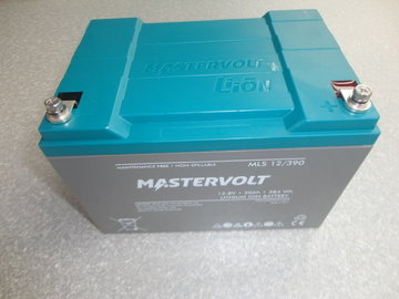 Mastervolt 12,8V 30A 384Wh Lithium ion battery MLS 12/390