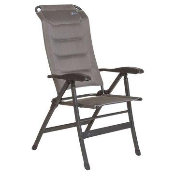 Bardani Santiago 3D Comfort campingstoel platina grey ALLEEN AF TE HALEN.