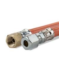 Gimeg gasslang PVC 1/4 inch links X 6/8 60cm 2018