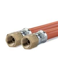 Gimeg gasslang PVC 1/4 inch links binnen X 1/4 inch links binnen 1,5m