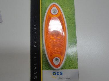 Breedtelamp Hella LED ovaal oranje