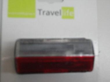 Markeringslamp Jokon rechthoekig wit/rood