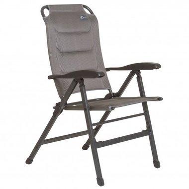 Bardani Vector 3D comfort verstelbare stoel Platina grey lage rug