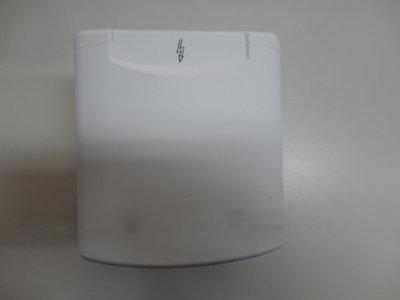 Inbouw elektra doos, CEE design 2014 wit