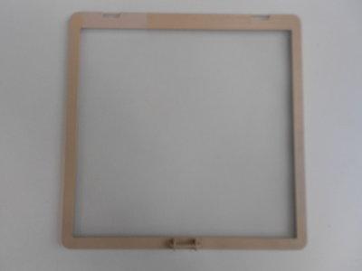 kader met vliegengaas 28x28 ( eerste type) beige