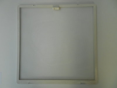 Kader met vliegengaas 40x40 ( eerste type) room wit