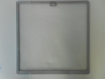 Kader met vliegengaas 40x40 ( eerste type) grijs