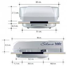Telair Airco/heater 5400 Silent incl. montage*