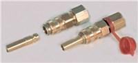 Gimeg snelkoppeling 6/8 inch X 8mm glad