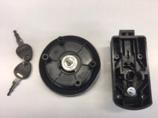 Deurslot Oberholz zwart 30-35mm rechts