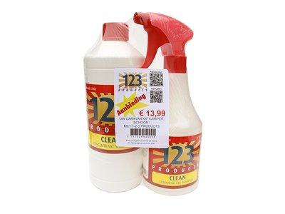 Starters pakket clean shampoo met navulling