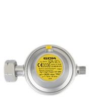 GOK gasdrukregelaar Universeel met afblaasbeveiliging 1/4 inch links 30mbar