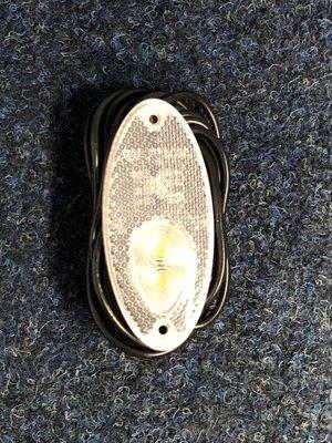 Breedtelamp Hella LED ovaal wit