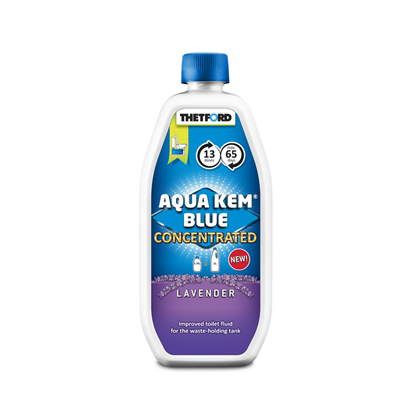 Thetford aqua kem blue lavendel concentrated 0,78ltr.