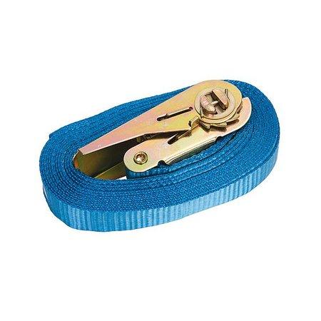 Spanband - Met ratel - 5 Meter - 25 mm breed - Blauw