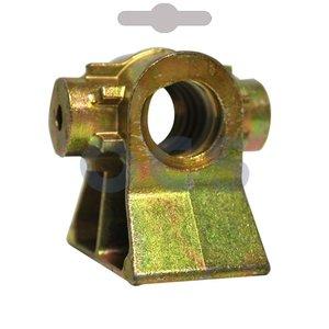 Hoeksteunspindel klein 15mm M16