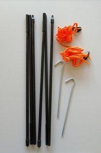 Vango fiberglas luifelstok King Pole 2x 130cm